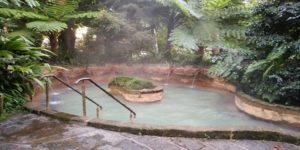 Furnas hot spring pool