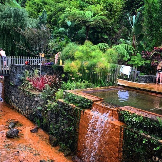 Furnas hot springs Azores