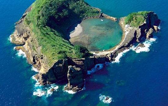 Islet Of Vila Franca Azores