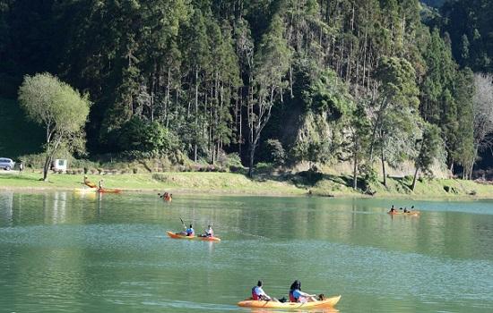Kayaking On The Lakes