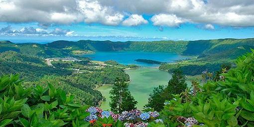 Sete Ciadades Hydrangeas Azores Holiday
