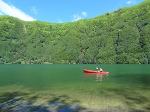 Kayaking Sete Cidades Azores