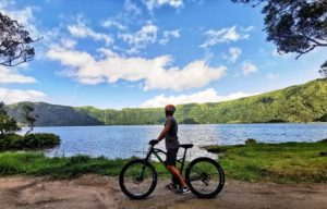 bike tours in Sete Cidades Rui Motta